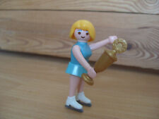 Playmobil Series 2 Figure 5244 Female Ice Skater With Trophy