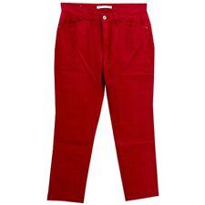 22405 MAC 7/8 Damen Jeans Hose MELANIE Stretch feuerrot