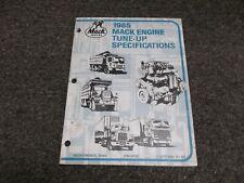 1985 Mack Truck CF DM MC MR Ultra Mid Super Liner Engine Service Repair Manual