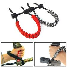 New listing Archery Compound Bow Wrist Sling Braided Cord Rope Adjustable Hunting Strap  YU