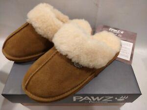 (NEW) Pawz By Bearpaw Mackenzie Women's Slippers Hickory (Sizes 6, 7, 8)