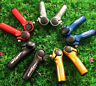 Bike Handle Bar Grips MTB Road Bicycle Aluminum Alloy Lock-on Handle Bar End