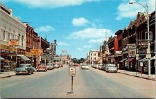 Postcard First Avenue on Highway 10 in Jamestown, North Dakota~137735