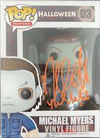 Nick Castle autographed signed inscribed Funko Pop Halloween Michael Meyers PSA