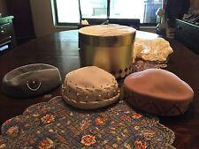 (2)vintage glenover brand 100% wool Henry Pollak ladies hats - (1)Merrimac Hat