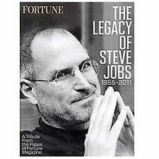 THE LEGACY OF STEVE JOBS* Soft Cover Book By FORTUNE MAGAZINE 112 Pages NEW!