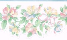 Laser Cut Pastel Floral Victorian Wallpaper Border
