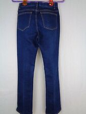 Womens Jeans Classiques Entier Nordstrom Exclusive Brand Dark Blue Size 6 26x30