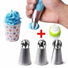 Icing Nozzles Tips Cupcake Sphere Ball Shape Kitchen Baking Tools Accessories
