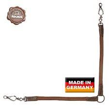 Akah Coupler Elk Leather 2x44cm Belt Lead Dog Handicraft Training