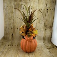 Fall Pumpkin Squash Centerpiece Table Decor Silk Arrangement Autumn Thanksgiving