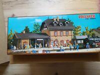 Vollmer 3520, - BAUSATZ-Bahnhof Benediktbeuren, H0, NEU!