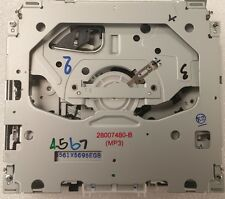 GM CD MP3 radio drive mechanism. Mech broken? Solve it. New OEM stereo part