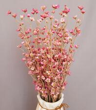 20 Zweige mit Blüten Kunst-Pflanze Deko-Strauß Blume Bündel Dekoration Pink