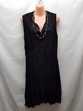 LILIA BLACK SMART CASUAL TUNIC / DRESS  SIZE XL