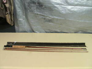 Vintage, Weber #2003 bamboo fly rod, marked Jack Scott