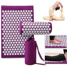 Massager Cushion/Massage Yoga Mat Relieve Stress Back Lotus Body Pain Fitness US