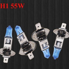 4PCS H1 12V 55W Super Bright White Halogen Head Light Lamp Bulbs Auto Car Hot