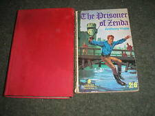 LOT 2 BOOKS by ANTHONY HOPE THE PRISONER OF ZENDA 1968 & RUPERT OF HENTZAU 1965