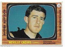 1967 Scanlens (11) Neville CROWE Richmond ::