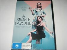 A SIMPLE FAVOUR DVD R4 NEW/SEALED