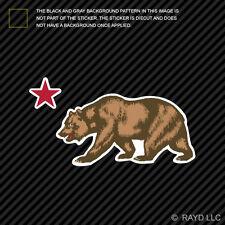 California Republic Sticker Die Cut Decal Californian cali socal norcal native