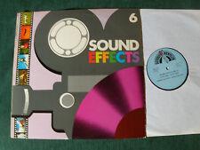 SOUND EFFECTS 6 - Wilde dieren - Wild animals - LP 33T 1980 DURECO BENELUX 44026
