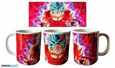 New Goku SSJ Blue Kaioken DBZ Dragon Ball Super coffee mug 11oz Gift Birthday