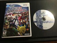 Super Smash Bros Brawl (Nintendo Wii) Game and Case - Good Condition