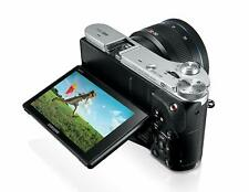 SAMSUNG NX300 WIRELESS SMART TOUCHSCREEN MIRRORLESS CAMERA FHD MOVIES WITH LENS