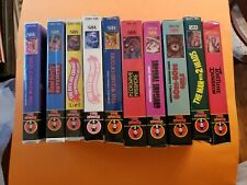 Big Box Midnight Video VHS Collection Almost Complete Set..Gore Gore Girls MORE!