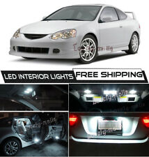 For 2002-2006 Acura RSX 6K White LED Interior Lights Package Kit Bulbs Lamp O5