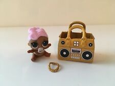 NEW LOL Surprise Doll Lil DJ Purse Boom box Necklace So Adorable!!!