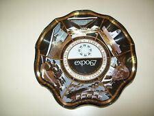 Worlds Fair Expo 67 Dish 1967 Souvenir Ashtray Bowl Houze Art Montreal Canada
