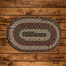 BROOK FARM NATURAL EARTH BRAIDED AREA RUG BY COLONIAL MILLS. MANY SIZES!