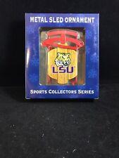 LSU Tigers Sled Ornament