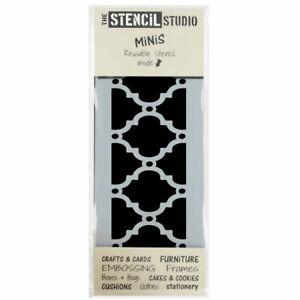 Stencil MiNiS - Moroccan Border - Reusable Stencils for Furniture & Crafts 10539