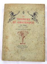 FREDH Le TRIOMPHE DU GROTESQUE PELLETAN 1907 1/22 JAPON FANTASTIQUE !