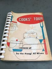 COOKS TOUR COOKED UP BY THE ATSUGI ALL WIVES 1959 The Arts First Edition