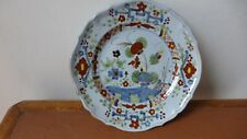 Assiette faience Faenza. Céramique. Ceramica. Majolica. Plate.