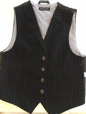 Tommy Hilfiger Boys  Suit Vest Blue Size 7