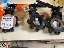 Three Butterfly Valves, $500 each Flowseal, 3
