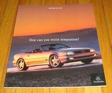 Original 2002 Mercedes Benz SL-Class Deluxe Sales Brochure SL 500 SL 600