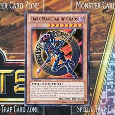 Dark Magician of Chaos SR08-EN015 x3 3x Cards Order of the SpellCasters 1st