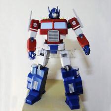 "Transformers Animation Version Optimus Prime Paper Model Kit 80cm=31"" Tall"