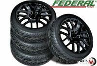 4 Federal SS-595 SS595 225/45ZR18 93W All Season Traction High Performance Tires