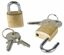 "Master Padlocks Set of 2 locks ""NEW"""
