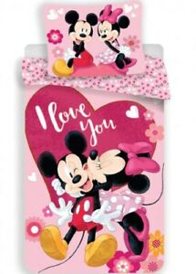 Minnie Maus Disney Bettwäsche  140 × 200 cm, 70 × 90 cm