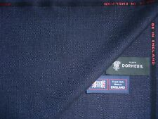 "DORMEUIL 80% WOOL +20% SILK ""Hopsack Weave"" SUITING FABRIC–2.0 m=MADE IN ENGLAND"