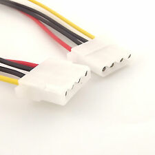 1x Power Extension Cable 4 pin LP4 Molex Female to Female Adapter Connector 40cm
